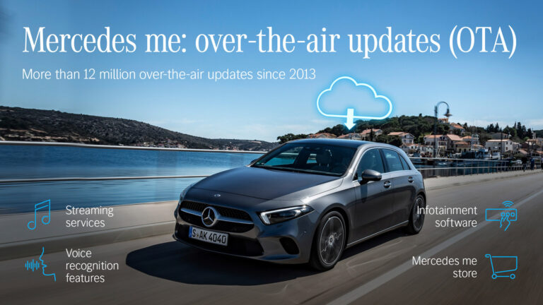 Over the air, Mercedes-Benz