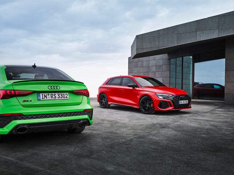 der neue Audi RS 3
